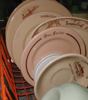 Tan Dishes-Fall