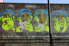Judith Supine (nolionsinengland) Tags: fear shoreditch loathsome judithsupine londongraffiti