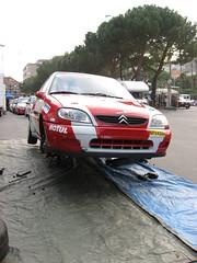 Cambio Gomme - Rally Andora 2008