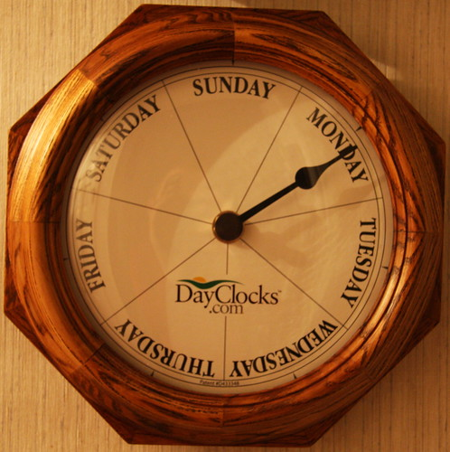 Week Clock