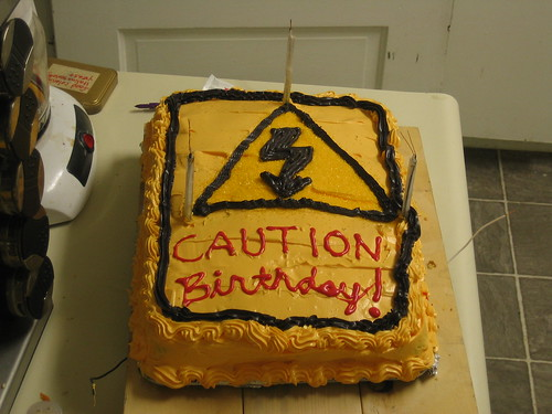 CAUTION: Birthday!