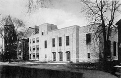 Circa 1939 (oldohioschools) Tags: pictures county old school ohio high architcture historical seneca columbian tiffin