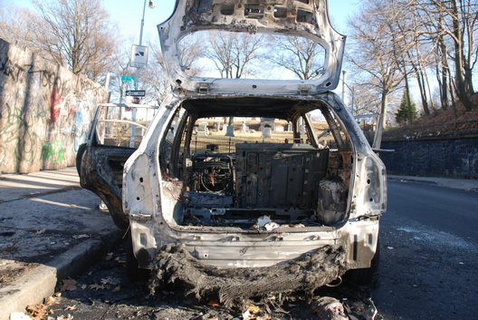Burned Car 23rd One