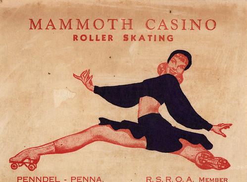Mammoth Roller Skating Rink!