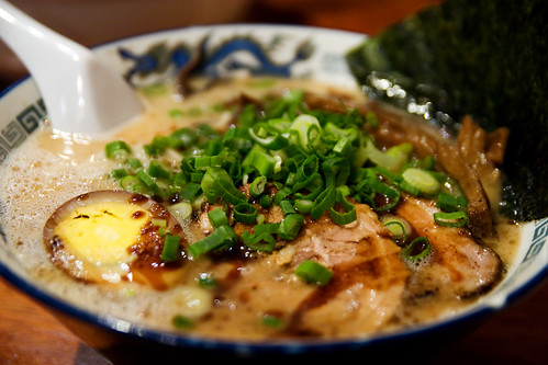 Minca ramen in pork broth