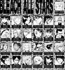 captians_vice captians/BLEACH ALL STARS (lunareclipse_BLUEphoenix) Tags: anime star captains all reaper manga bleach vice soul strong society coolness assistant sereitei