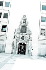Caja de Madrid with a baroque entrance