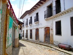 honduras , yuscarán. (chamo estudio) Tags: pueblo honduras fachadas centroamerica yuscarán hondurastequiero