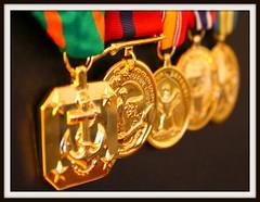 Dress Blue Medals (C.Free) Tags: marine dress blues corps medals bokehsmoothsilky royalgroup groovygang flickrbronze digitalpro exemplaryshots shootingtolearndslr goldsealofquality eyeofthephotographer styleofframedpictures thegoldproject peoplewhojustliketotakepictures