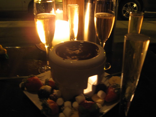 Fondue & Sparkling Wine