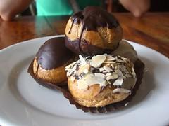 Profiteroles - Chimmy's Bakery, Richmond