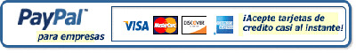 Regístrese en PayPal y empiece a   aceptar pagos con tarjeta de crédito instantáneamente.