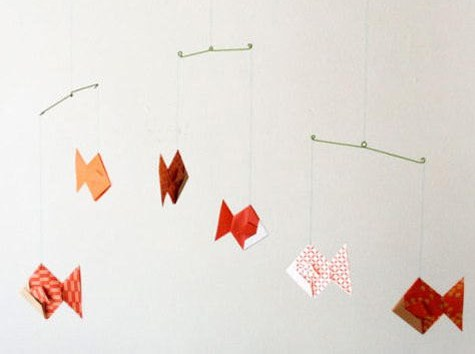 Diy Wednesdays Origami Mobile Designsponge