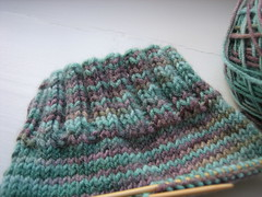 Chocolate Teal Sock