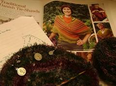 mohair loop shawls