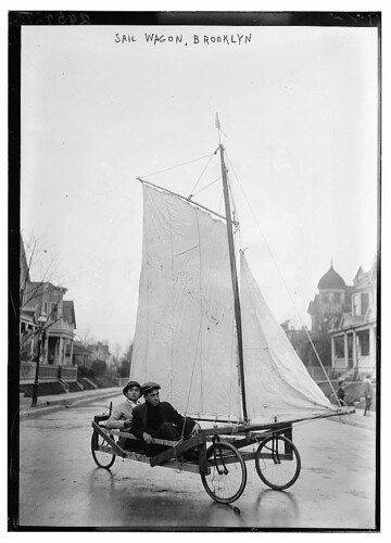 Sail Wagon, Brooklyn (Library of Congress) by Bain News Service, publisher from Flickr