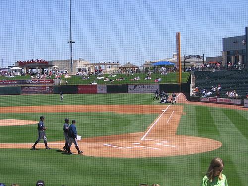 Minor-league baseball!