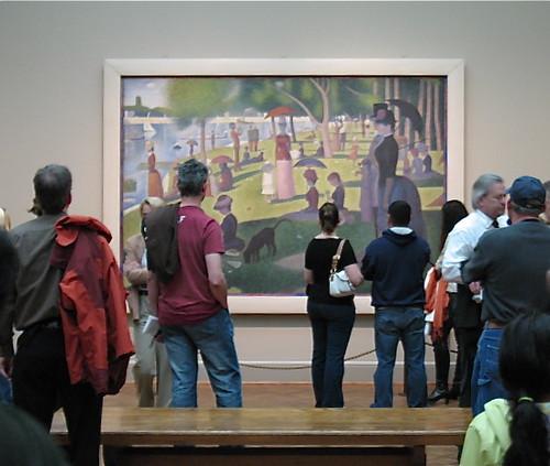 L'après-midi dimanche à l'Institut d'art de Chicago by mojosmom