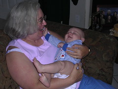 My mom and my nephew Loki