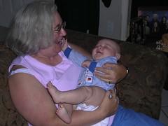 My mom and my nephew Loki