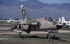 AMARC  F105D 59771 (TF102A) Tags: kodachrome usaf aviation aircraft amarc amarg masdc davismonthan f105 thunderchief