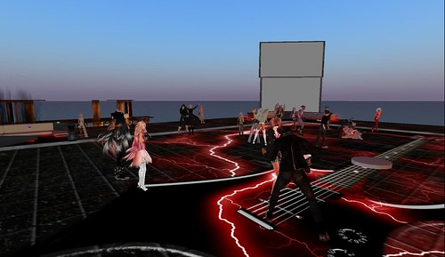 sanctuary rock party in second life