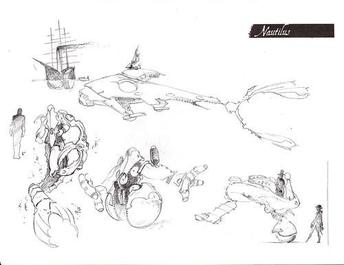 Sketchbook - NAUTILUS concepts by broken toys
