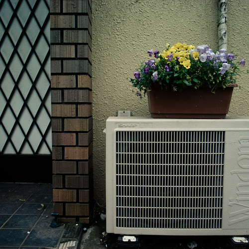 Air Condition Mini Garden