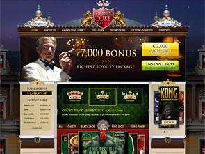 GrandDuke Casino Home