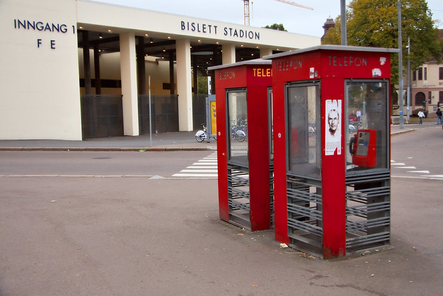 Norwegian phone booth #3