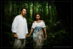 Tito and Army Prenup @ Bilar Forest (Ryan Macalandag) Tags: wedding portrait forest nikon philippines sb600 bohol tagbilaran prenup d80 strobist ryanmacalandag