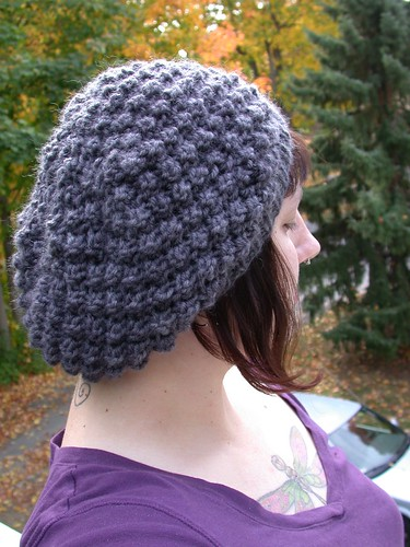 Trinity Stitch Hat (tons of pix!)  Now with Pattern!  - KNITTING 88d69c36412