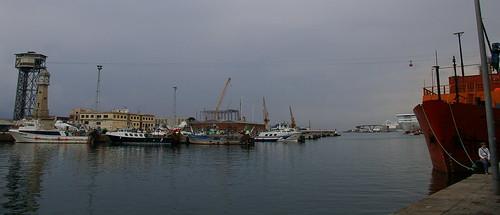 05.2007 Barcelona, port