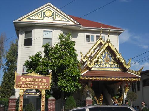 Thai Temple Berkeley Sunday Food