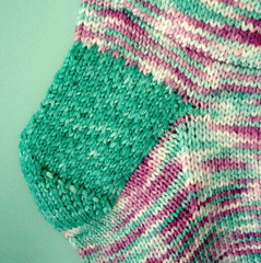 Clover's Stocking Close heel