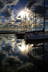 MY FAVOURITE BOATS (Dani Balkanska) Tags: fab sky water clouds lunch boats clear thoughts outlook soe innit itsperfect themoulinrouge brownseaisland mywinners danroka myfavouritesky myfavouritereflection myfavouriteboats