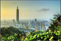 Taipei 101 (wee_photo) Tags: sunset d70 taiwan explore 101  wee taipei hdr 101 sigma20mmf18 mywinners betterthangood