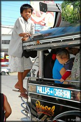Young passenger (nigel_xf) Tags: nikon philippines transport d70s nikond70s publictransport nigel jeepney cagayan mindanao philippinejeepney philippinetransport nigelxf