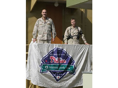 Phillies Fans in Afghanistan