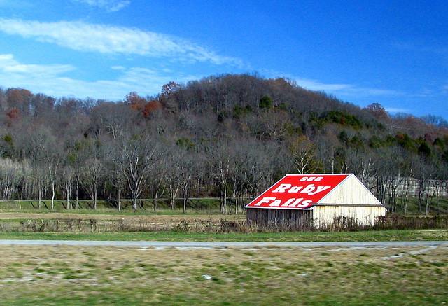 Ruby Falls barn in Coffee County #1