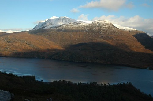 Slioch north across loch Maree