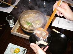 豚骨野菇白湯鍋