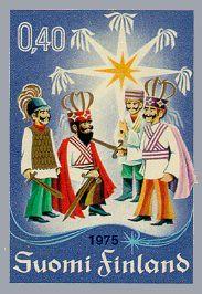 Tiernapojat en los sellos finlandeses