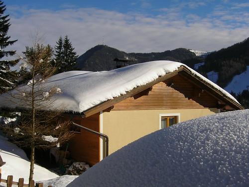 śnieżna czapa