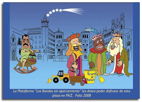 Feliz 2008, los Bandos sin aparcamiento