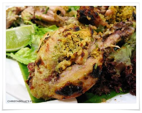 番紅花印度料理前菜窯烤雞腿坦格里仔細看