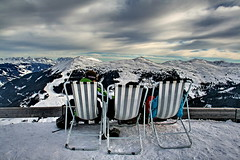 The Weather guys :) (labareda photo) Tags: sky snow ski alpes austria chair perfect day photographer view sightseeing snowboard rest infinite montains the hinterglemm