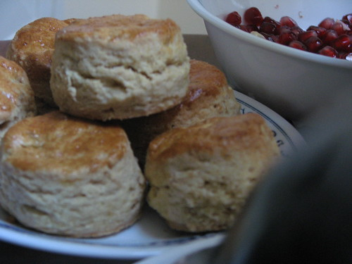 Maple scones