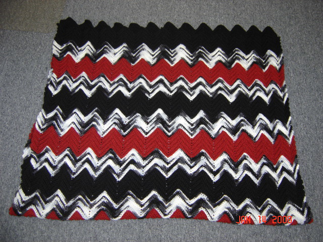 Ravelry Masculine Ripple Stitch Afghan Pattern By Maria Merlino