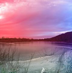 """Cotton Candy Skies"" (my4otos) Tags: sky lake art ice nature colors clouds interestingness nina breathtaking supershot hempsteadlake flickrstars mywinners impressedbeauty ultimateshot wowiekazowie onlythebestare thatsbostin flckrestrellas"